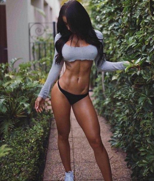 Sexy gym female hot workout bodybuilder movie