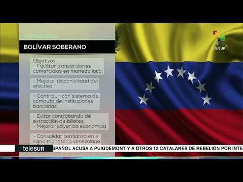 Venezuela ¿qué se busca con el bolívar soberano