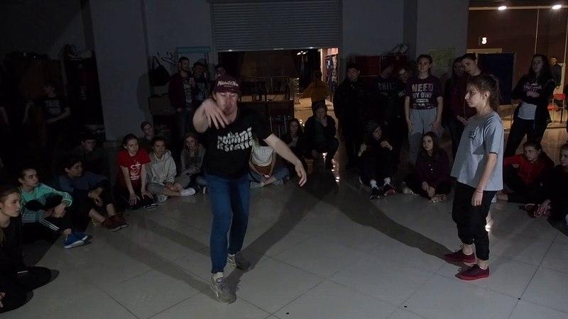 Hip Hop PRO Tea Jam Battle vol. 9.0 noname какой - то vs Юля Сафина