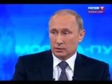 Москва. 16 апреля, 2015. Путину во время прямого эфира сообщили об убийстве Олеся Бузины (Россия-1)