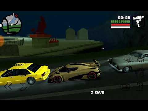 Grand Theft Auto San-Andreas Разъезжаю на Koenigsegg Agera One 2014Sport Под Музон с Рэпом 5 Tracko