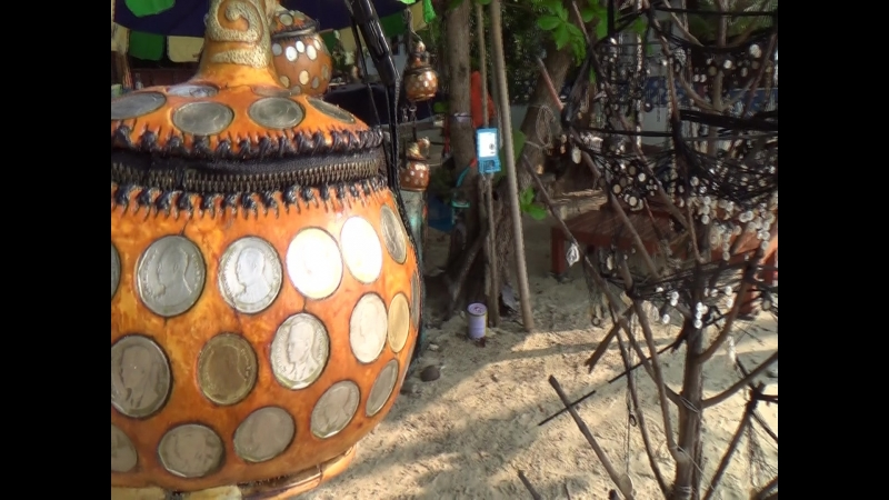 Остров Самет, местный Handmade.