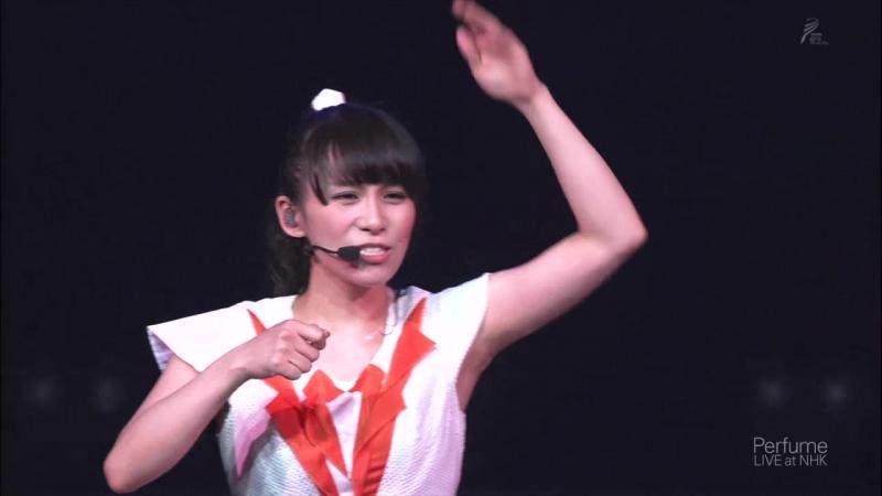 (Live) Perfume - Perfume LIVE at NHK (BS Premium)(2013.10.27) (2)