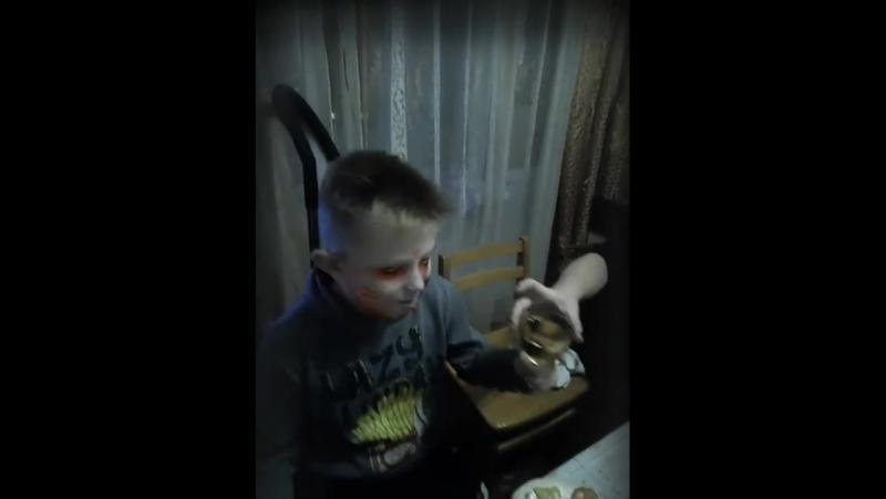Антон зомби на моё др