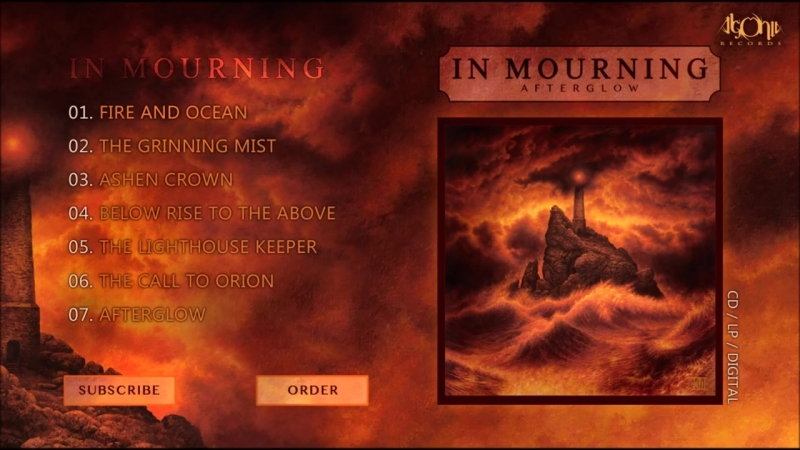 IN MOURNING - Afterglow (Official Album Stream)