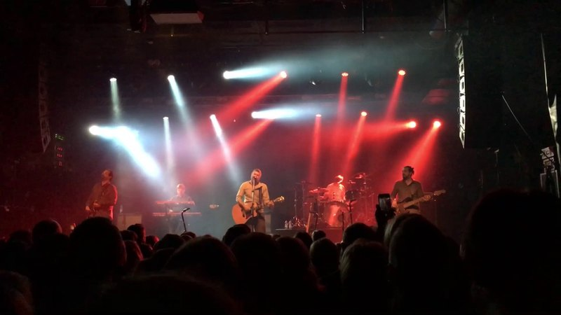 Splean in The Circus Helsinki 10 5 2017 Сплин Маяк на стихи Владимира Маяковского Лиличке