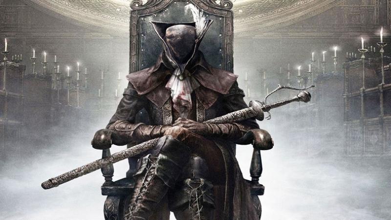 Bloodborn (Old hunters) Леди Мария из Астральной часовой башни