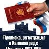 Временная Регистрация Прописка РВП Калининград