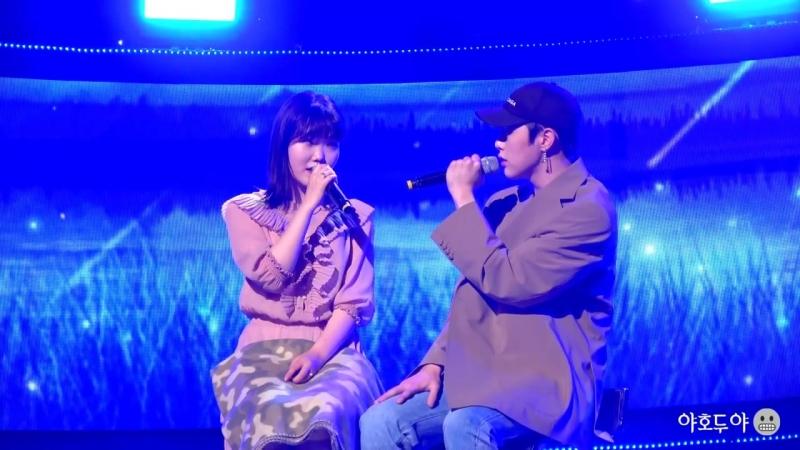 171210 오랜 날 오랜 밤(Last Goodbye) - 권현빈(Hyunbin), 이수현- 비정규직아이돌 쇼케이스