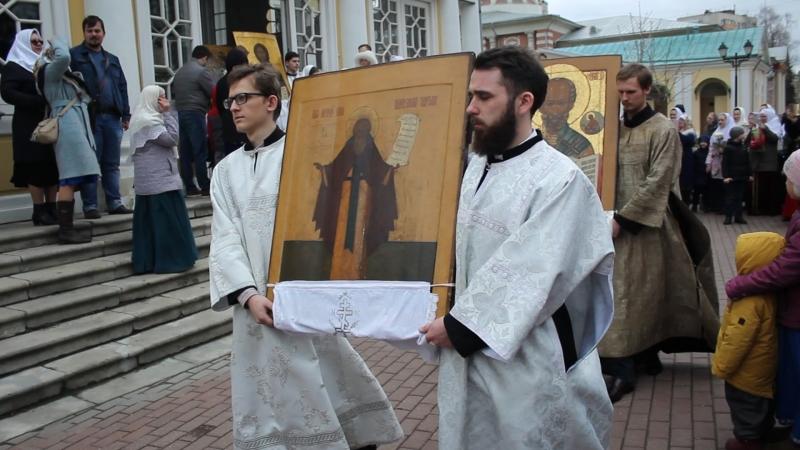 свв Жен Мироносиц 22 04 2018 г Рогожское Крестный ход