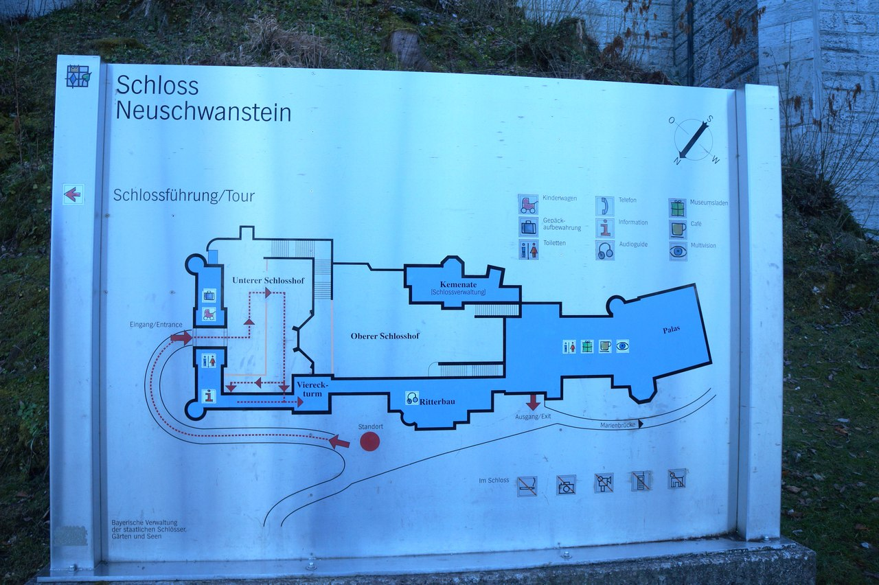 Neuschwashtein - the main castle of the world castle, castle, minutes, you can, only, Hohenschwangau, Unfortunately, therefore, you can make a ticket, Ludwig, very, very, can, through, also, be a castle, more