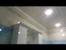 Отделка ванной комнаты туалета ПВХ панелями До и после ремонта