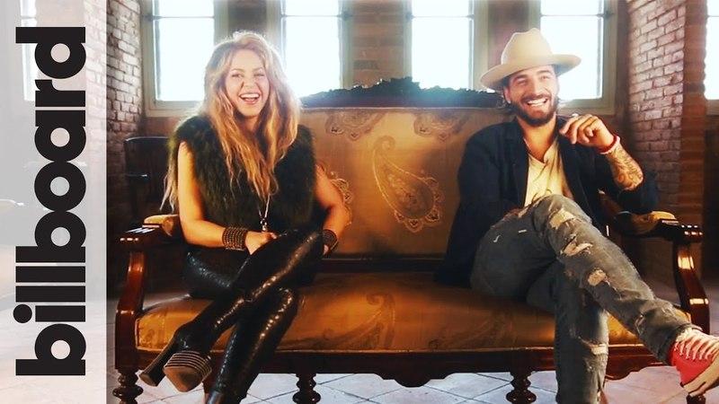 Shakira Maluma Discuss Bringing Kids On Tour, Soccer More! | Billboard