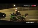 Kawasaki Ninja ZX 14R (2012) vs Nissan GT R AMS Alpha 12