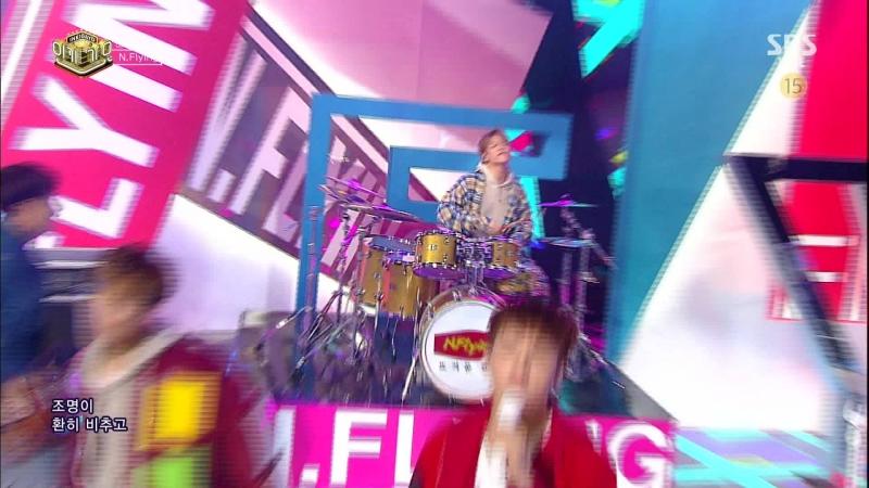 [Comeback Stage] 180107 N.Flying (엔플라잉) - Crossroad (골목길에서) Hot Potato (뜨거운 감자)