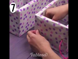 7 практичных идей с картонными коробками!
