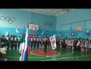 прощание с кадетским флагом
