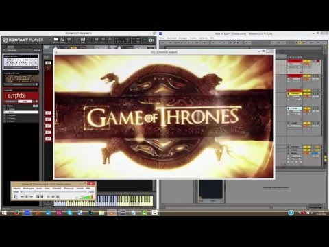 Able to Epic [001] - Let´s compose cinematic music with Ableton | Game of Thrones Score