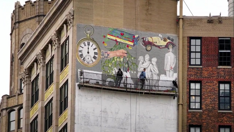 Burberry Murals - An Interview With Blondey McCoy, New York