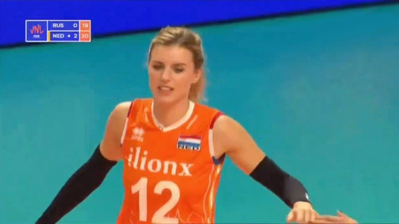 Russia v Netherlands — Full Highlights | 2018 Volleyball Nations League Women's
