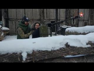 Галустян испытал новое снаряжение для военно-тактических игр