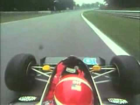 Eddie Cheever Monza 1983