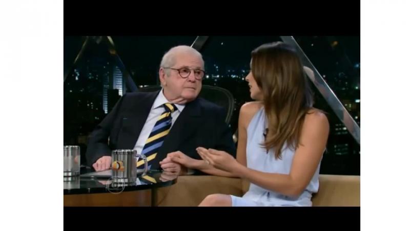 Paolla Oliveira em entrevista a Jô Soares - 31-10-2014
