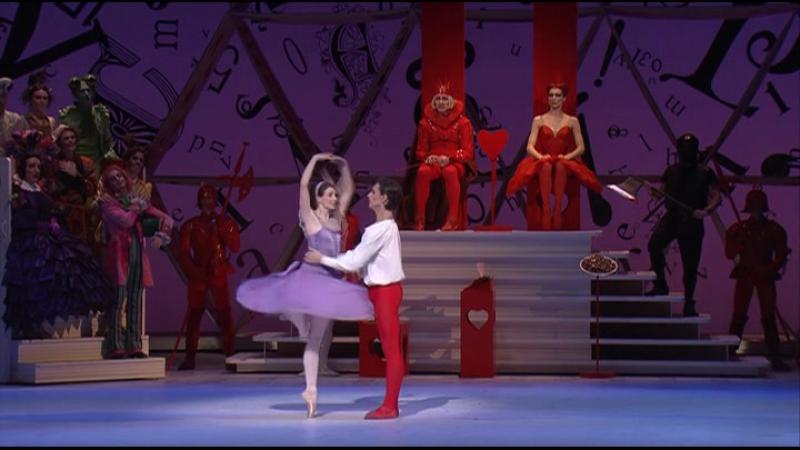Балет «Алиса в стране чудес». Ковент-Гарден. 2011.