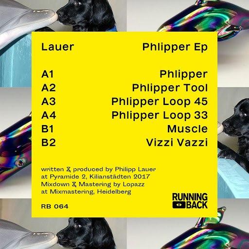 LAUER альбом Phlipper EP