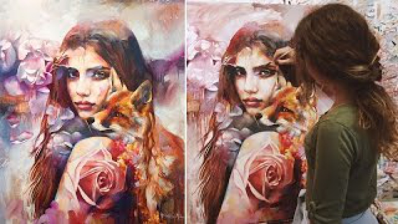 Extraordinary Paintings By Dimitra Milan