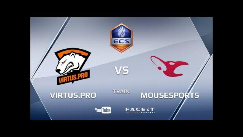 Virtus.pro vs mousesports, train, ECS Season 4 Europe
