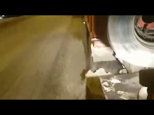 Уборка Воронежа от снега