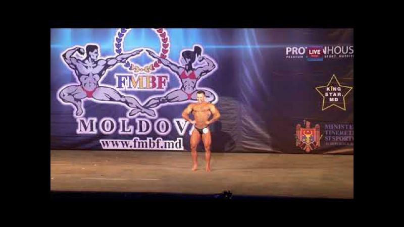 IFBB Moldova 2017 - Николай Бобейка (Тирасполь)