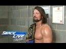 Hard work pays off for AJ Styles: SmackDown LIVE Fallout, Nov. 7, 2017