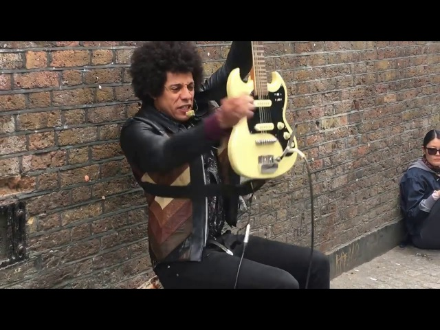 Motörhead Ace of Spades Vs Notorious B.I.G. Juicy - Lewis Floyd Henry Cover (Brick Lane London 2017)