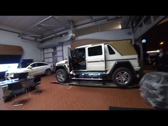 Первый обзор Maybach G650 Landaulet за 1 250 000евро часть1
