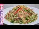 ВКУСНЫЙ ЯПОНСКИЙ САЛАТ КИОТО С ОБАЛДЕННОЙ ЛЕГКОЙ ЗАПРАВКОЙ Japanese salad NEW YEAR RECIPES