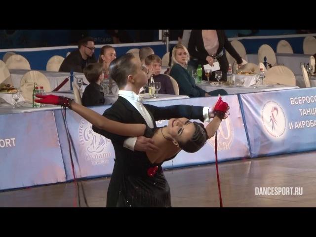 Sergey Marushin - Anna Lubimova, RUS, 1/2 Viennese Waltz