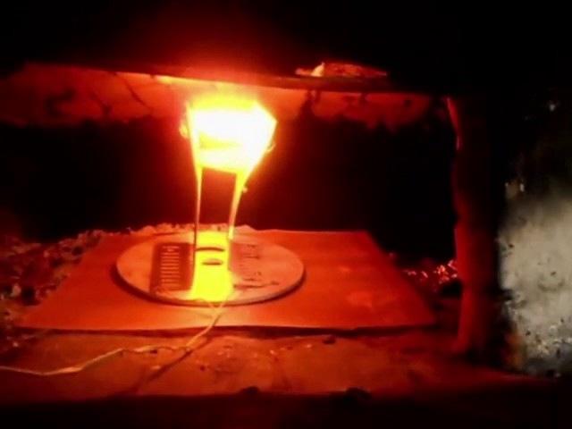Холодное электричество Николы Тесла (съёмка 22.10.2013).