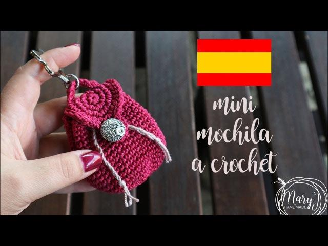 Mini mochila tejida a crochet | MARYJ HANDMADE