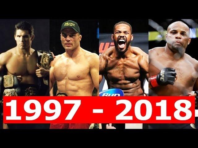 ВСЕ ЧЕМПИОНЫ UFC В ПОЛУТЯЖЕЛОМ ВЕСЕ От ШЕМРОКА до КОРМЬЕ