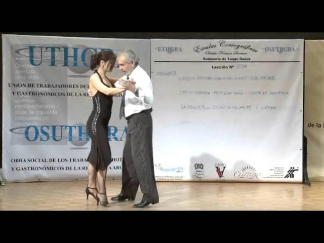 Clase De Tango Danza Nivel Intermedio Compacto Lección 1,2,3,4,5,6,7,8,9 y 10