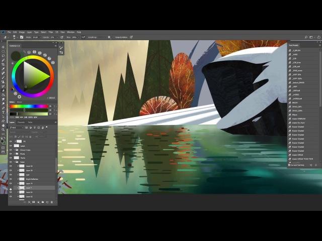 Stylised Study Video Process