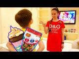 Джони Джони да папа Видео для детей Bad Kid Steals Candy Johny Johny yes papa Nursery Rhymes songs