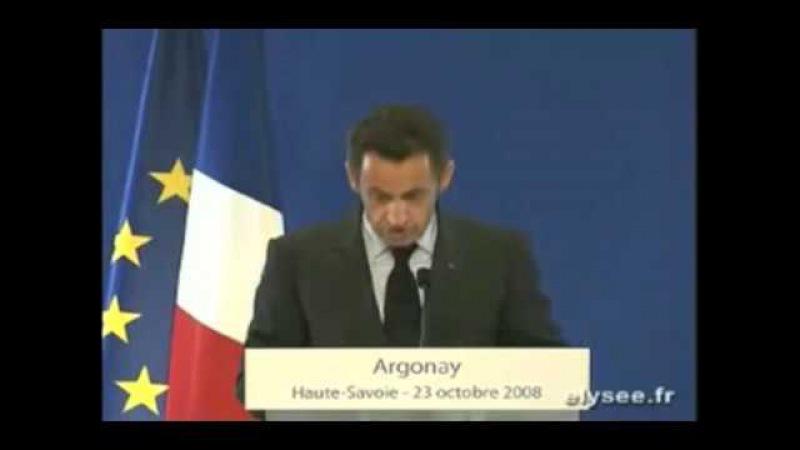 Sarkozy veut imposer le NOUVEL ORDRE MONDIAL (NWO)
