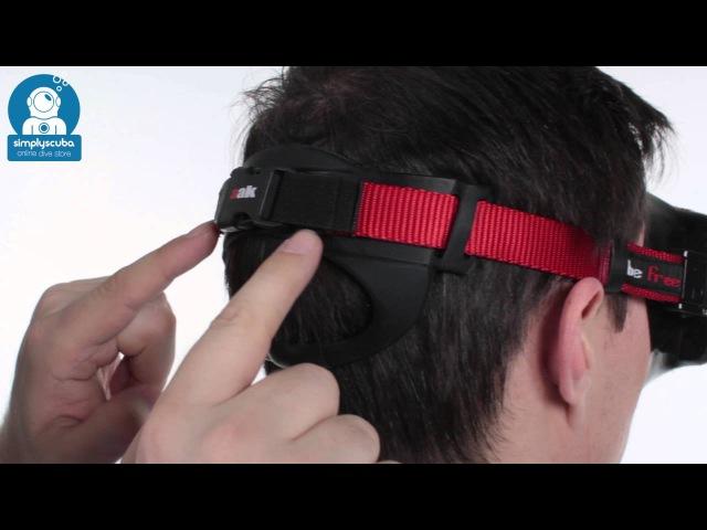 AAK Diving Comfort Mask Strap