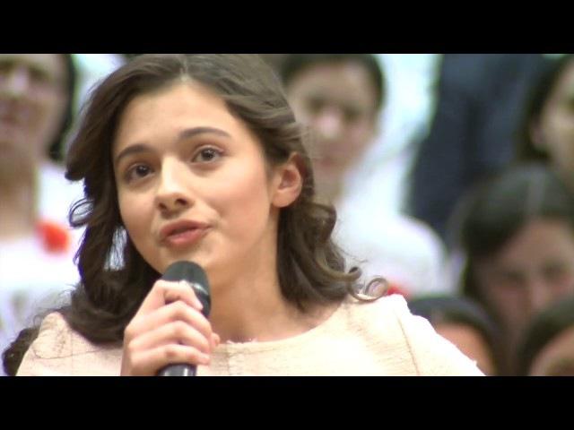 """LAURA BRETAN –TATĂL NOSTRU / THE LORD'S PRAYER - CONCERTUL """"VIE ȊMPĂRĂƮIA TA"""" – ATENEUL ROMÂN"""