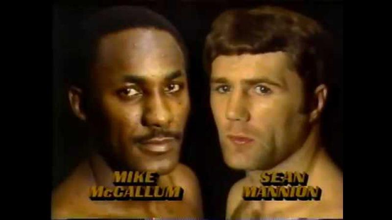 1984-10-19 Mike McCallum vs Sean Mannion