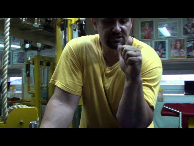 Боковой нажим (Training of Armwrestling (side pressure))