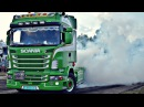LOUD Scania R500 V8 Burnout Drag @ Bogács 2k17 (Kacsa / Ytka )